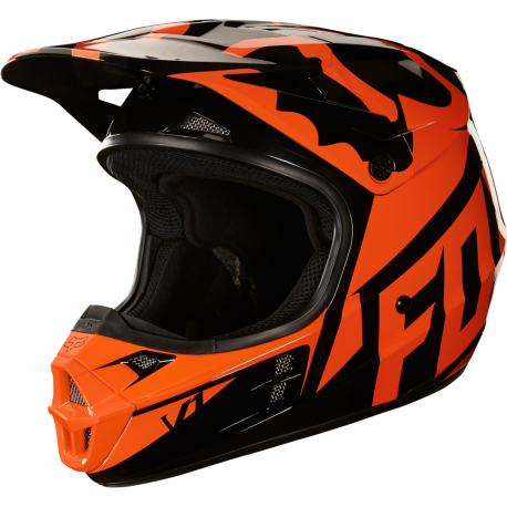 Kask FOX V1 Race Orange