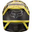 Kask FOX V3 Preest Dark Yellow