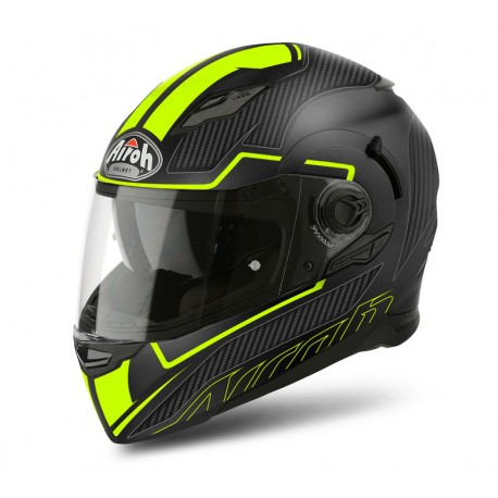 Kask Airoh Movement S Faster Yellow