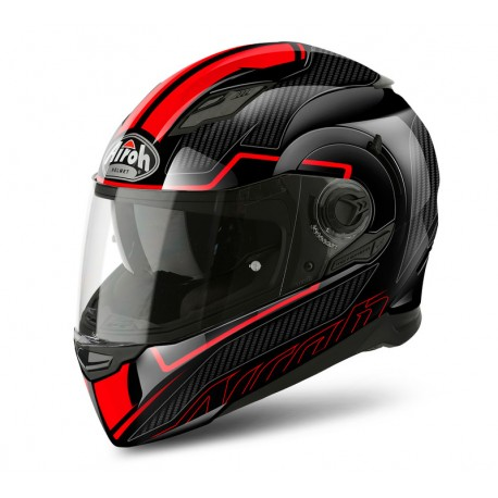 Kask Airoh Movement S Faster Red